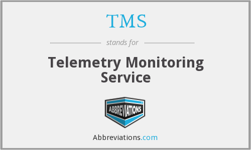 TMS - telemetry monitoring service