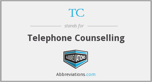 TC - Telephone Counselling