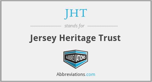 JHT - Jersey Heritage Trust