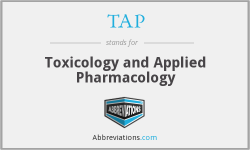 TAP - Toxicology and Applied Pharmacology