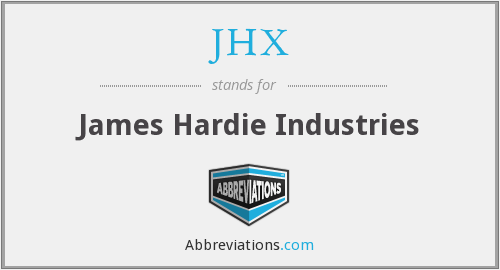 What does JHX stand for?