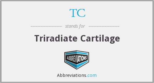 TC - triradiate cartilage