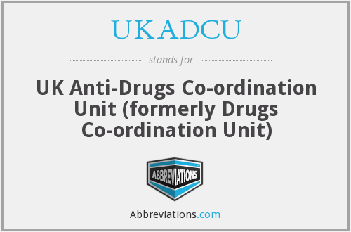 What does UKADCU stand for?