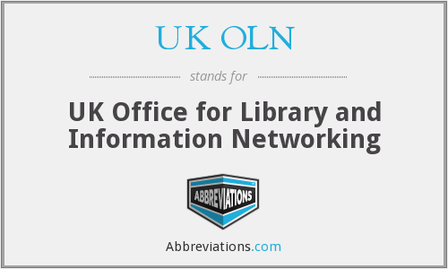 What does UK OLN stand for?