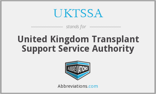 What does UKTSSA stand for?