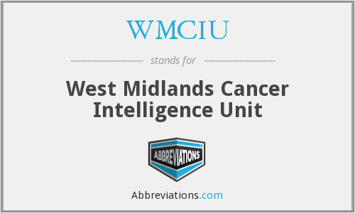 What does WMCIU stand for?