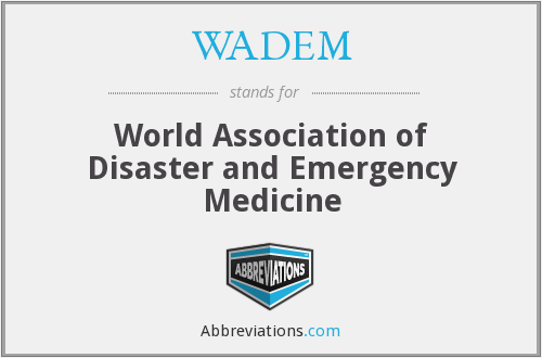 What does WADEM stand for?