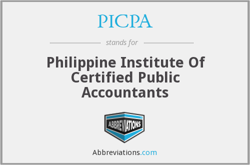 What does PICPA stand for?