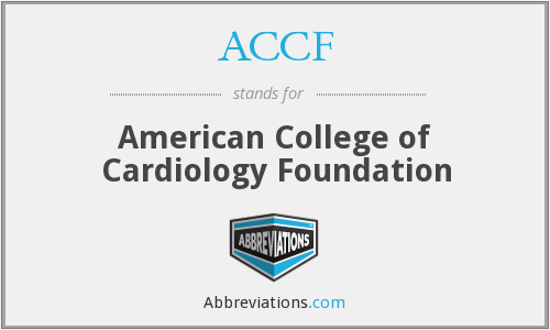 ACCF - American College of Cardiology Foundation