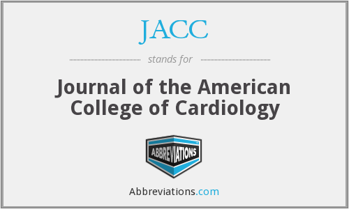 JACC - Journal of the American College of Cardiology