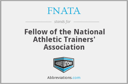 What does FNATA stand for?