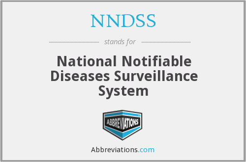 What does NNDSS stand for?