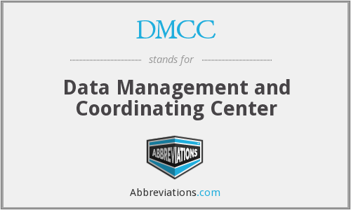 DMCC - Data Management and Coordinating Center