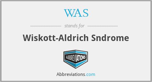 WAS - Wiskott-Aldrich Sndrome