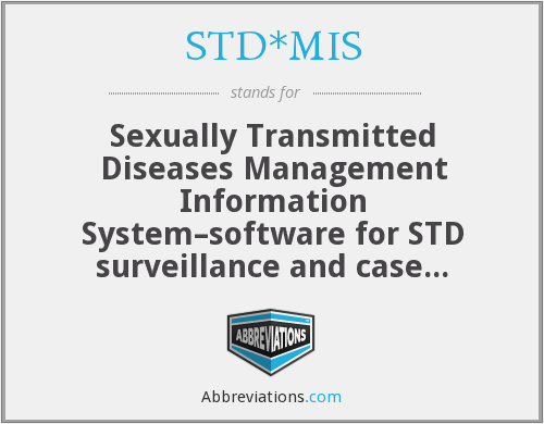 What does STD*MIS stand for?
