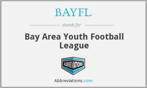 BAYFL - Bay Area Youth Football League