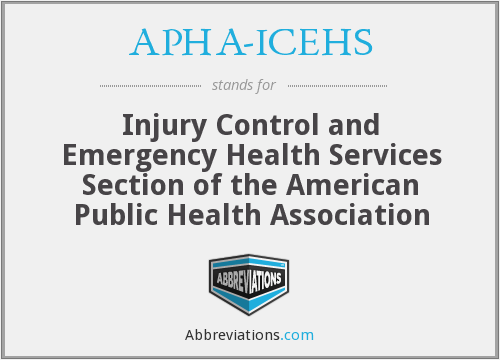 What does APHA-ICEHS stand for?