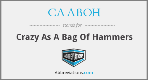 What does CAABOH stand for?