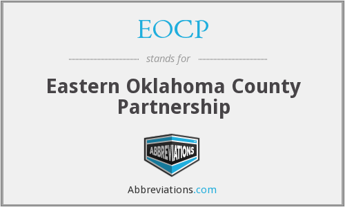 EOCP - Eastern Oklahoma County Partnership