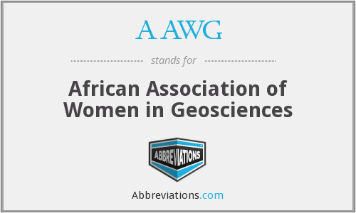 AAWG - African Association of Women in Geosciences