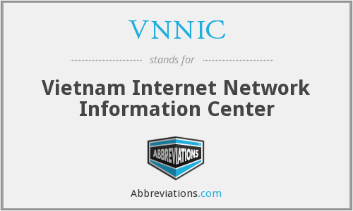What does VNNIC stand for?