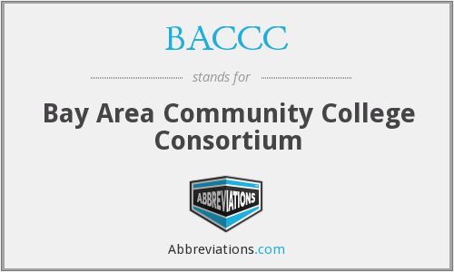 BACCC - Bay Area Community College Consortium