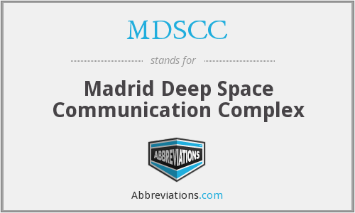 What does MDSCC stand for?
