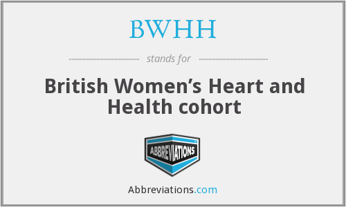 What does BWHH stand for?