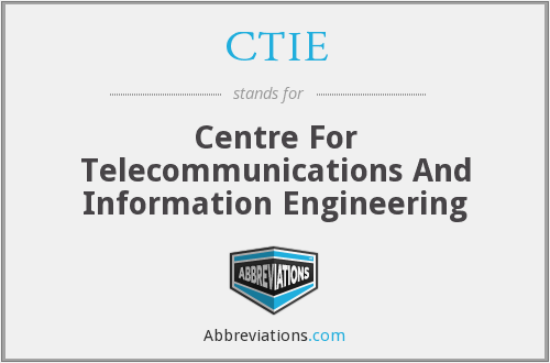 What does CTIE stand for?