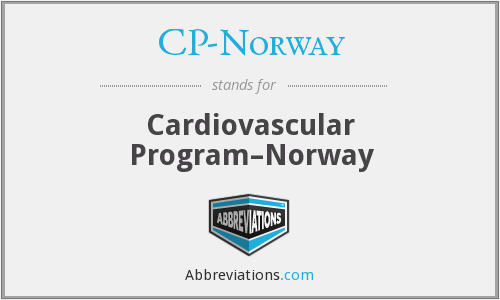 CP-Norway - Cardiovascular Program–Norway