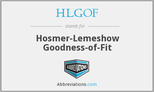 What does HLGOF stand for?