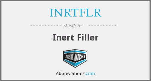 What does INRTFLR stand for?