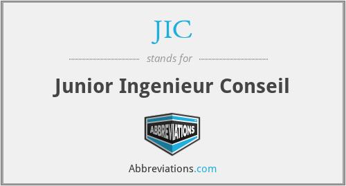 JIC - Junior Ingenieur Conseil