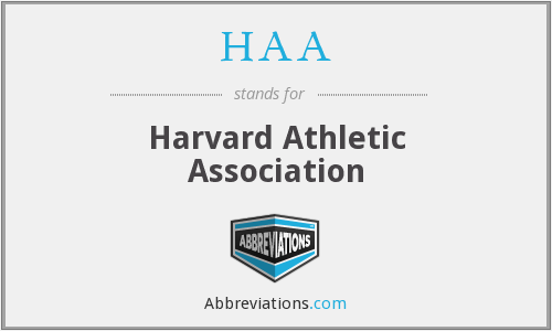 HAA - Harvard Athletic Association