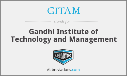 What does GITAM stand for?