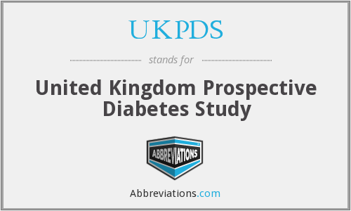 What does UKPDS stand for?