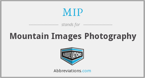 MIP - Mountain Images Photography
