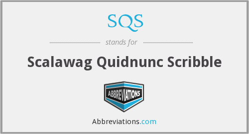 What does scalawag stand for?