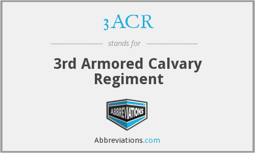What does 3ACR stand for?
