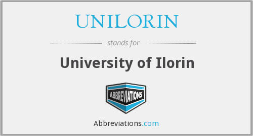 What does UNILORIN stand for?
