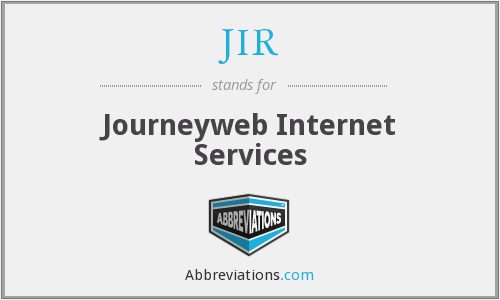 JIR - Journeyweb Internet Services