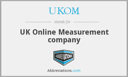 UKOM - UK Online Measurement company