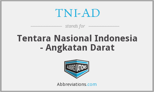 What does TNI-AD stand for?