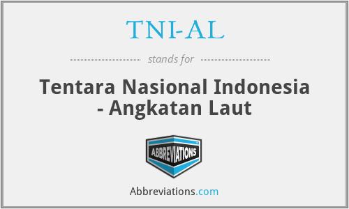 TNI-AL - Tentara Nasional Indonesia - Angkatan Laut