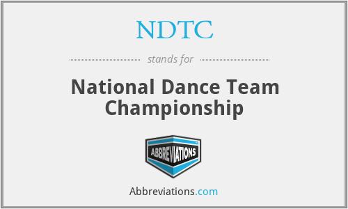 NDTC - National Dance Team Championship