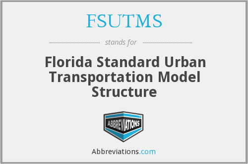 What does FSUTMS stand for?