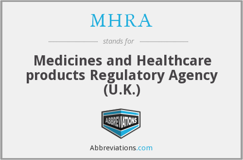 MHRA - Medicines and Healthcare products Regulatory Agency (U.K.)