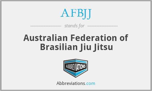 AFBJJ - Australian Federation of Brasilian Jiu Jitsu