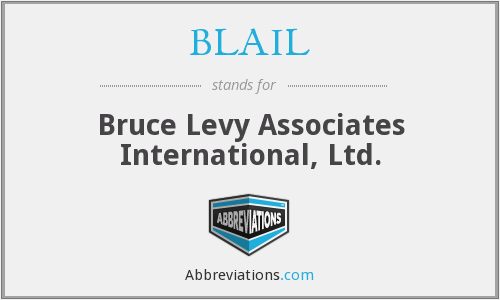 What does BLAIL stand for?