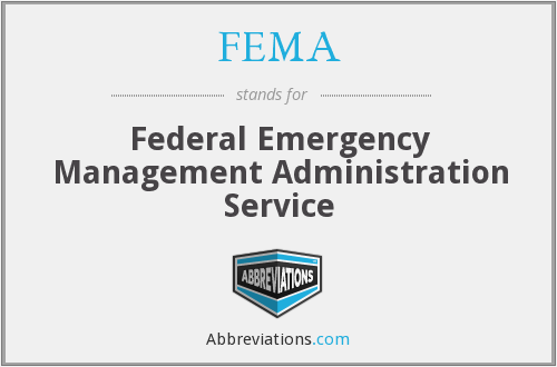 FEMA - Federal Emergency Management Administration Service